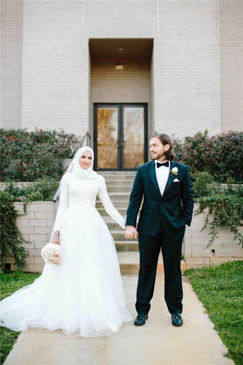 Gaun Pengantin Muslimah Simple Inspirational List Of Gaun Pengantin Muslim Wedding Dressses Long Sleeve