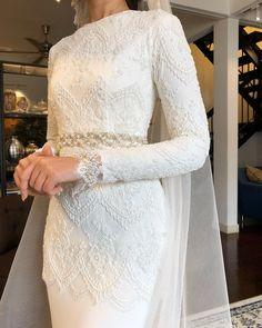 Gaun Pengantin Muslimah Simple Luxury 144 Best Baju Nikah Putih Images In 2019