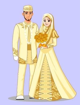 Gaun Pengantin Muslimah Simple Tapi Elegan Awesome 108 823 Muslim Cliparts Stock Vector and Royalty Free