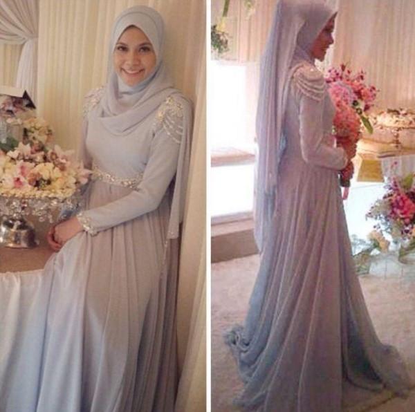 Gaun Pengantin Muslimah Simple Tapi Elegan Awesome Gaun Pengantin Muslimah Simple Tapi Elegan Malaysia