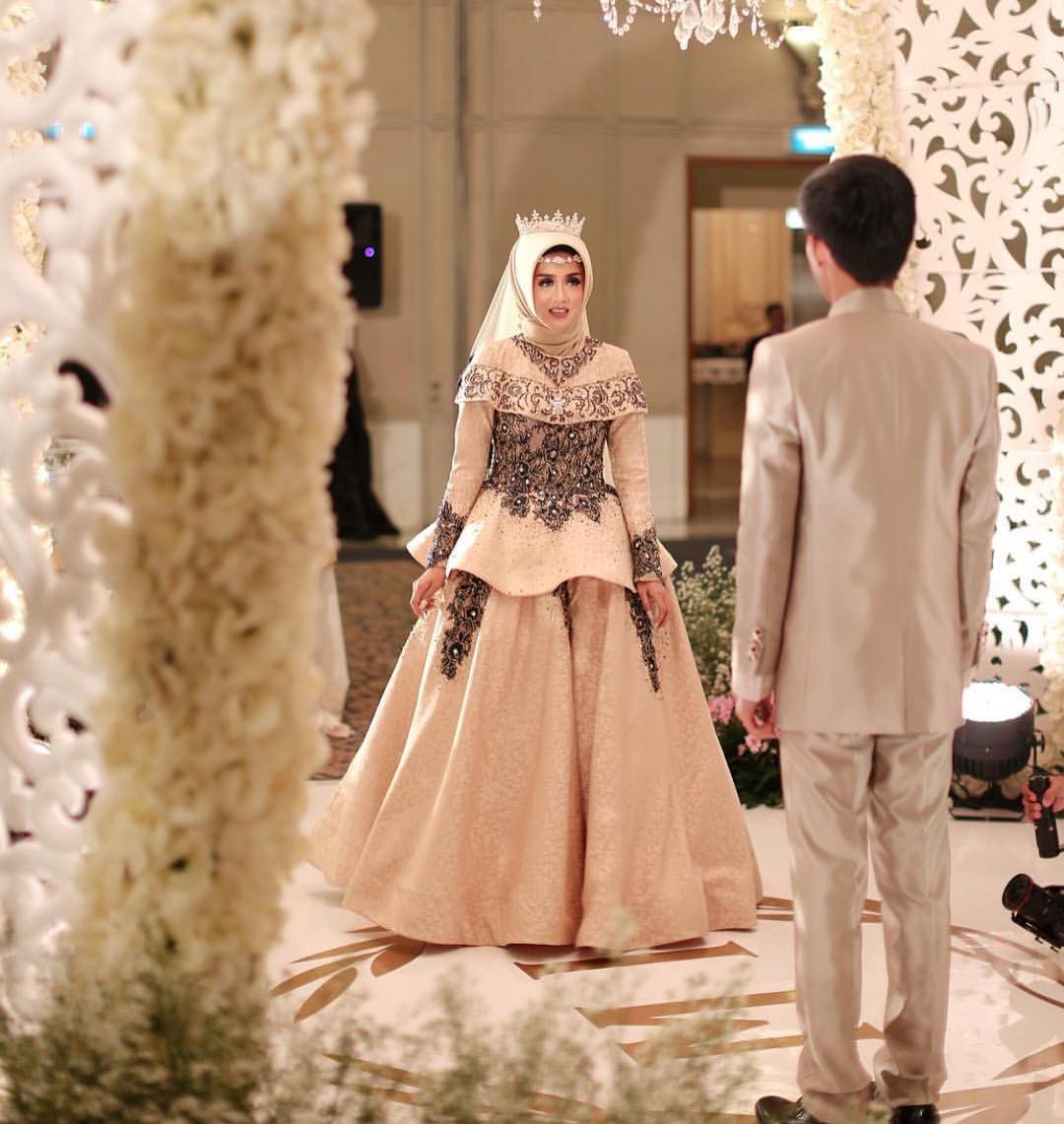 Gaun Pengantin Muslimah Simple Tapi Elegan Fresh Gaun Pengantin Muslimah Simple Tapi Elegan Malaysia