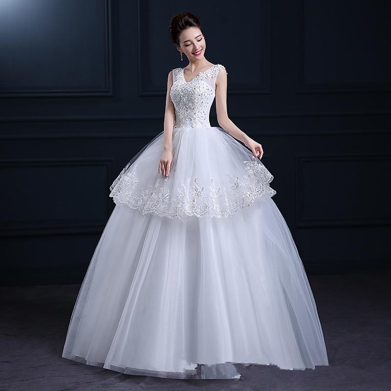 Gaun Pengantin Muslimah Simple Tapi Elegan New Real Sample Dress Real Sample Dress Suppliers and