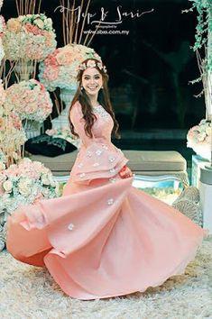 Gaun Pengantin Muslimah Terindah Di Dunia Lovely 12 Best Baju Tunang Images