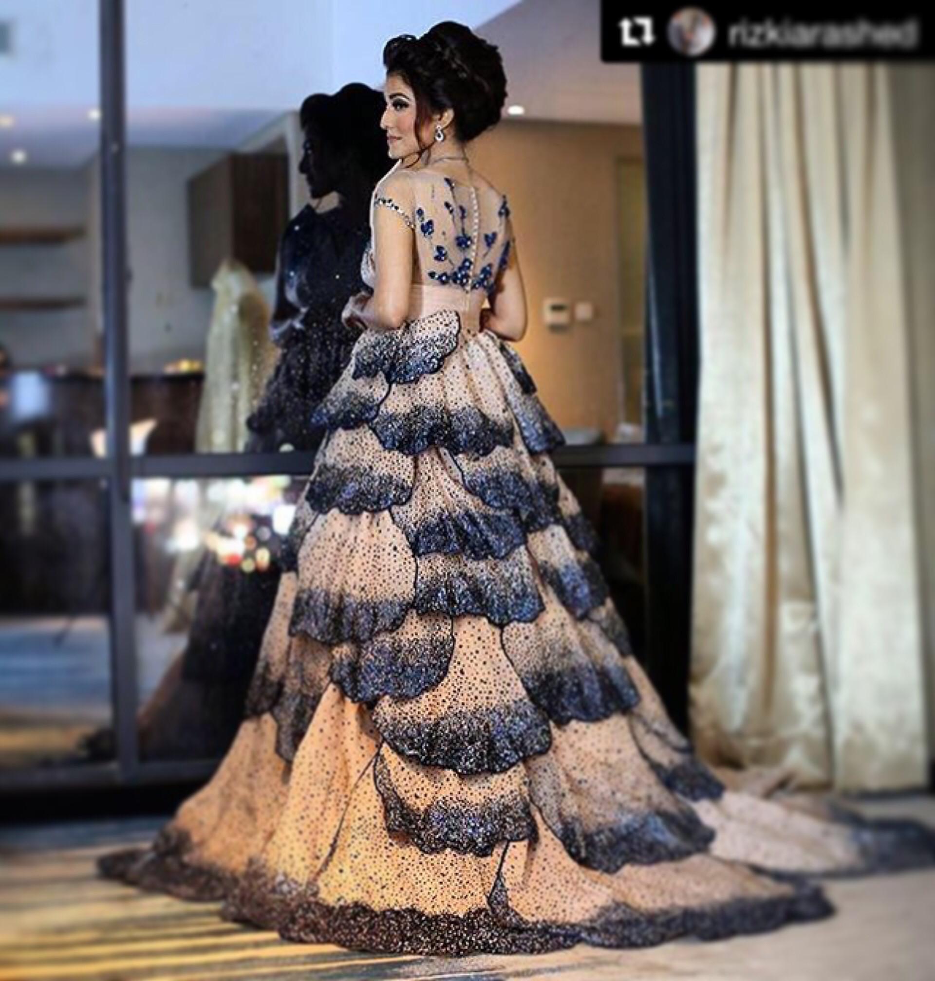 Gaun Pengantin Muslimah Terindah Di Dunia Luxury Eji atelier