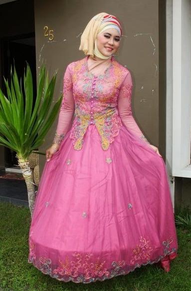 Gaun Pengantin Muslimah Untuk orang Gemuk Beautiful Ayo Lihat Model Kebaya Muslim Modern Untuk anda Wanita
