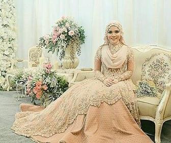 Gaun Pengantin Muslimah Untuk orang Gemuk Best Of Model Kebaya Akad Nikah Untuk orang Gemuk Model Kebaya