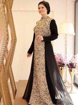 Gaun Pengantin Muslimah Untuk orang Gemuk Elegant 17 Model Baju Muslim Untuk orang Gemuk 2018 Casual & Modern