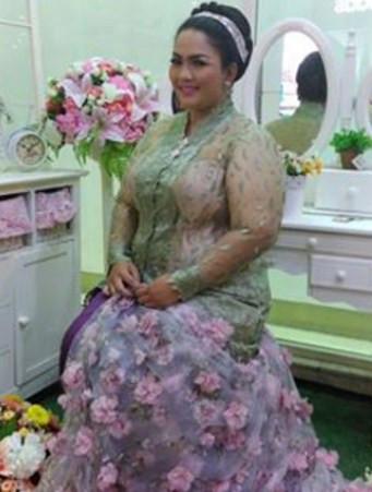 Gaun Pengantin Muslimah Untuk orang Gemuk Elegant 45 Model Kebaya Pengantin Terbaru Muslim Batak Dan Jawa