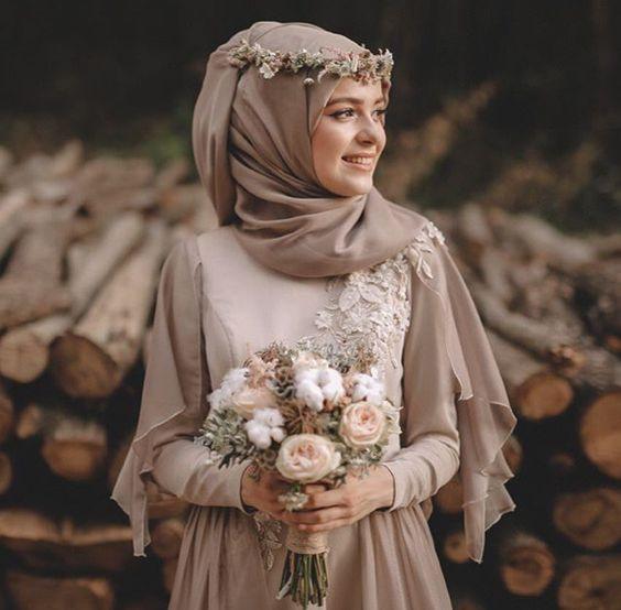 Gaun Pengantin Muslimah Untuk orang Gemuk Elegant Gaun Pengantin Yang Cocok Untuk Segala Bentuk Badan Prelo