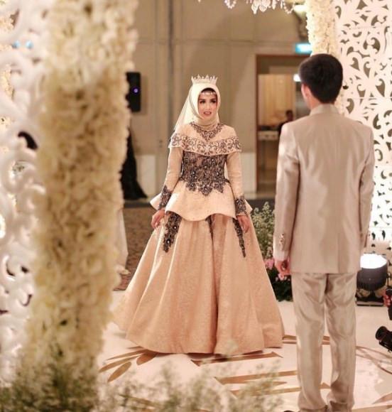 Gaun Pengantin Muslimah Untuk orang Gemuk Fresh 60 Gaun Pengantin Muslimah Edisi Terbaru 2019