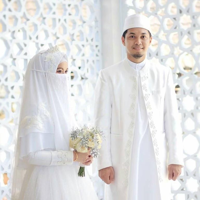 Gaun Pengantin Syari Muslimah Bercadar Awesome Cantik Nan Teduh Ini Deretan Inspirasi Busana Pengantin