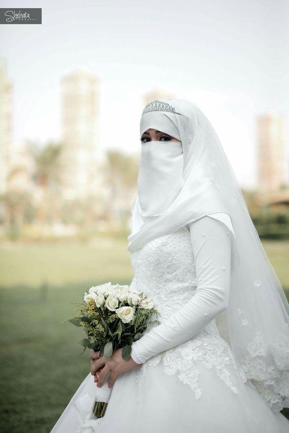 Gaun Pengantin Syari Muslimah Bercadar Beautiful Galeri 15 Inspirasi Gaun Pengantin Bercadar Tampil Menawan