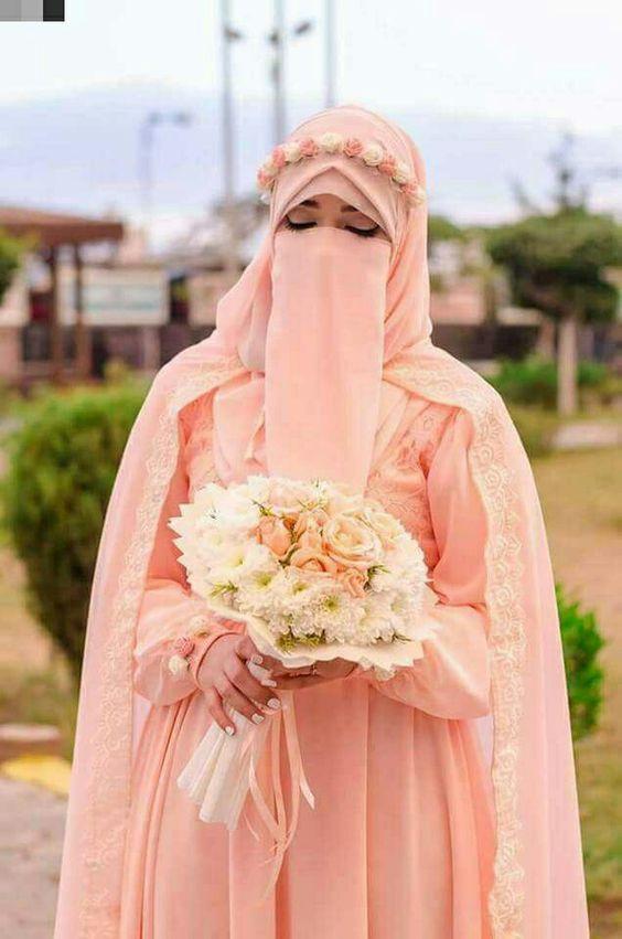 Gaun Pengantin Syari Muslimah Bercadar Best Of Galeri 15 Inspirasi Gaun Pengantin Bercadar Tampil Menawan