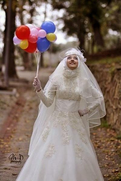 Gaun Pengantin Syari Muslimah Bercadar Best Of Model Baju Pengantin Bercadar Ide Hijab Syar I