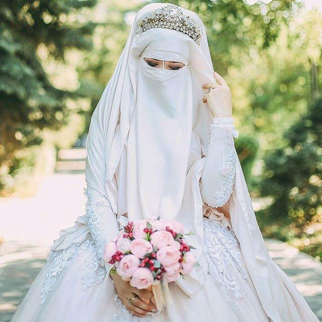 Gaun Pengantin Syari Muslimah Bercadar Elegant top Info Gaun Pengantin Niqab Baju Pengantin