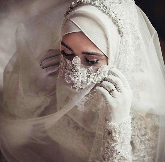 Gaun Pengantin Syari Muslimah Bercadar Fresh Galeri 15 Inspirasi Gaun Pengantin Bercadar Tampil Menawan