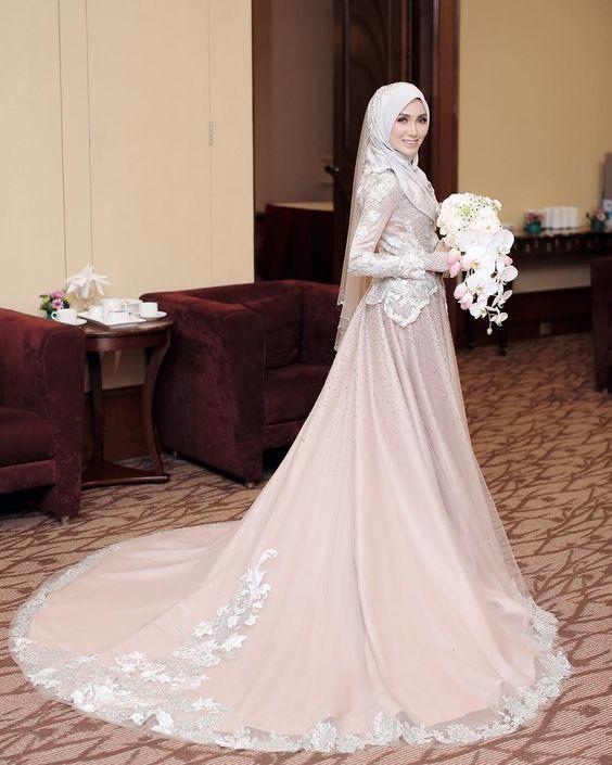 Gaun Pengantin Syari Muslimah Bercadar Inspirational Inspirasi Baju Pengantin Muslimah Yang Bisa Kamu Tiru Untuk