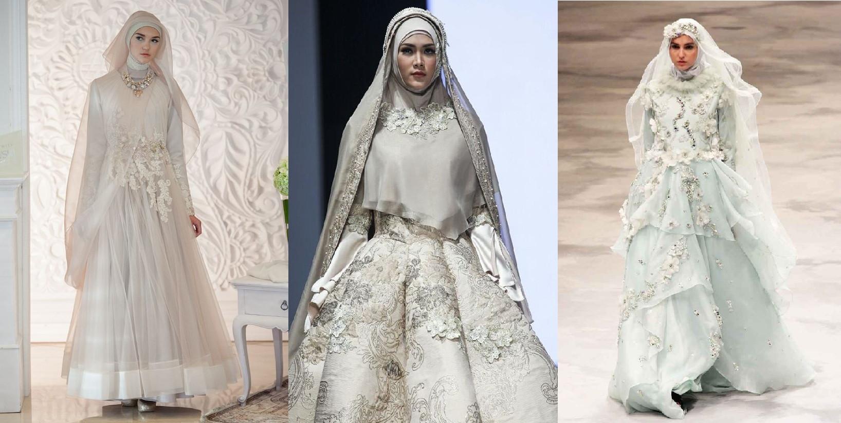 Gaun Pengantin Syari Muslimah Bercadar Unique Cantik Dengan Gaun Pengantin Muslimah Syar I Prelo Blog
