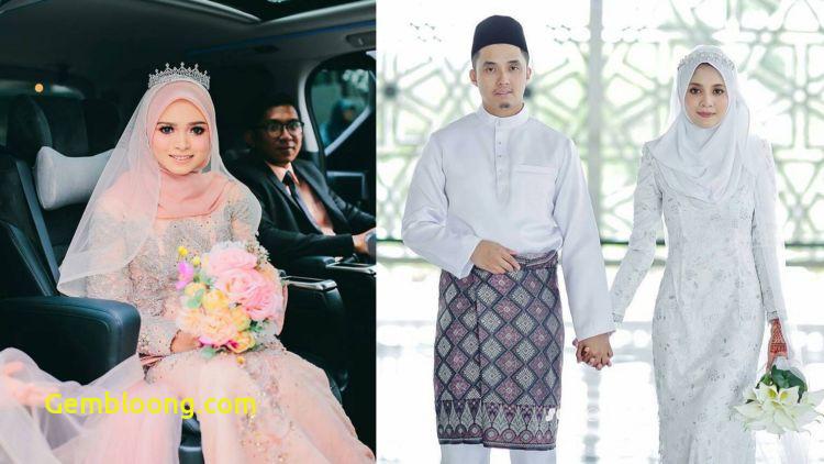 Gaun Sederhana Pengantin Berhijab Inspirational 13 Inspirasi Gaun Pengantin Melayu Untukmu Yang Berhijab