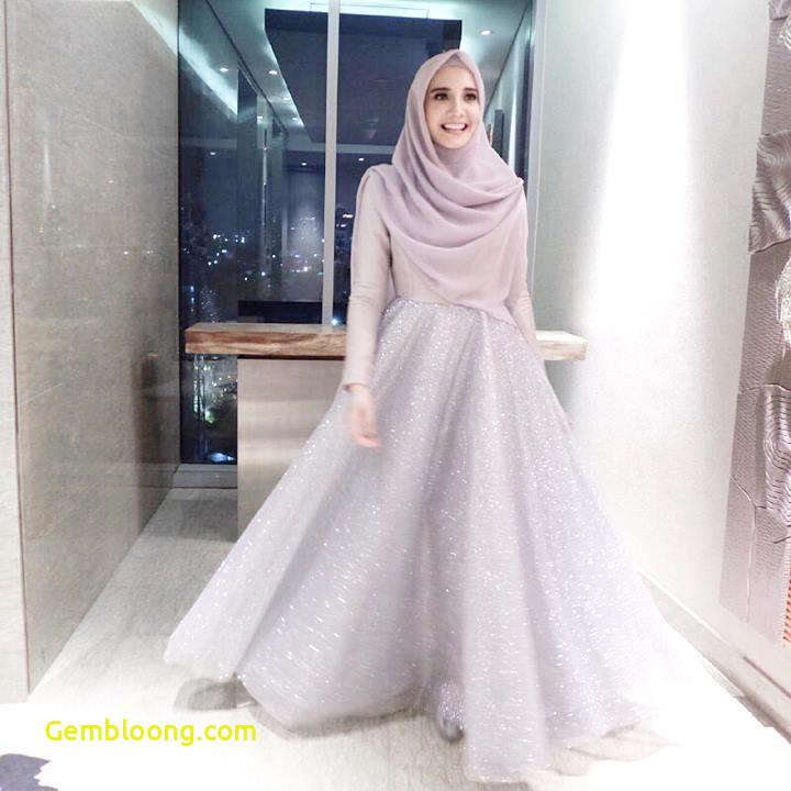 Gaun Sederhana Pengantin Berhijab Luxury 12 Inspirasi Gaun Pengantin Muslimah Syar I Yang Tetap