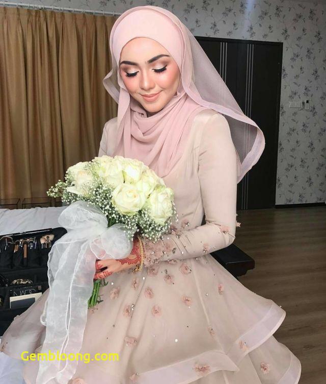 Gaun Sederhana Pengantin Berhijab Unique 13 Inspirasi Gaun Pengantin Melayu Untukmu Yang Berhijab