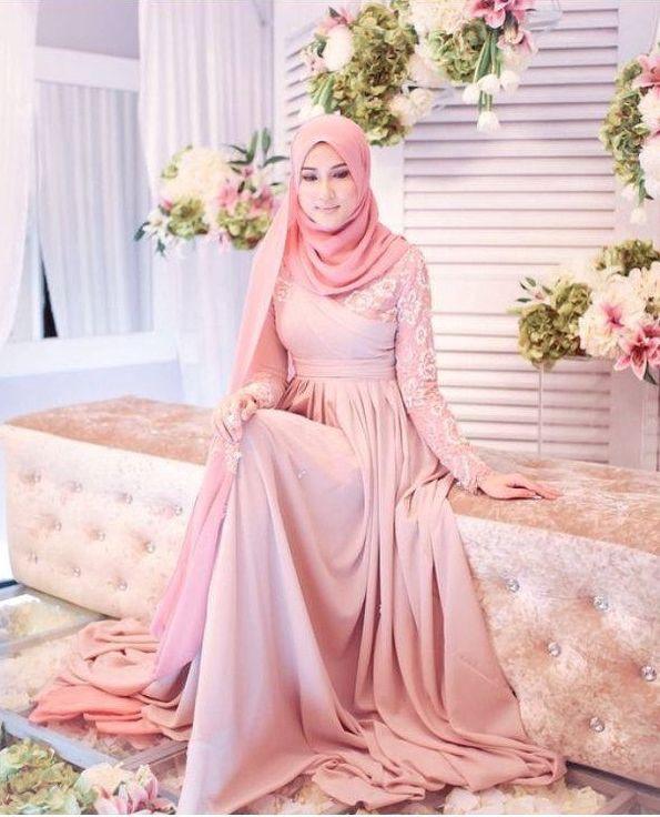 Harga Gaun Pengantin Muslimah Simple Tapi Elegan Beautiful Gaun Pengantin Muslimah Simple Tapi Elegan Malaysia