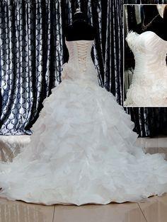 Harga Gaun Pengantin Muslimah Simple Tapi Elegan New 13 Gambar Gaun Wedding Ekor Terbaik