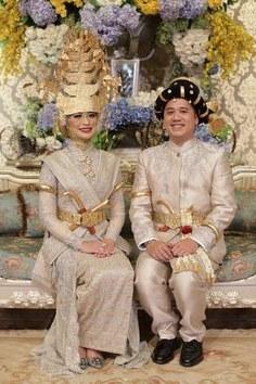 Ide Baju Pendamping Pengantin Muslimah Whdr 15 Best Mandailing Wedding Images In 2019