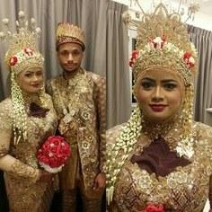 Ide Baju Pengantin Adat Jawa Muslim Modern Mndw 9 Best Malay Bridal songket Sanggul Lintang Images