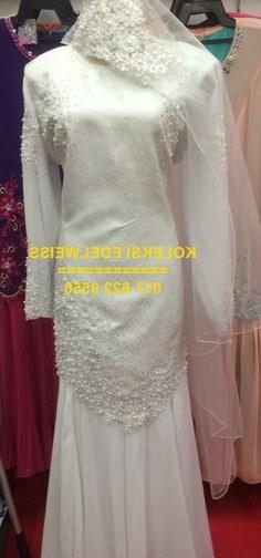 Ide Baju Pengantin Akad Nikah Muslimah D0dg 16 Best Gaun Pengantin Muslimah Malaysia Images
