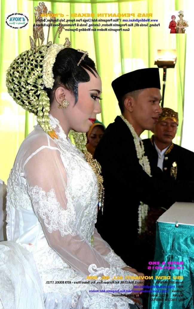 Ide Baju Pengantin Dodotan Muslim Budm Rias Pengantin Bekasi D Nova