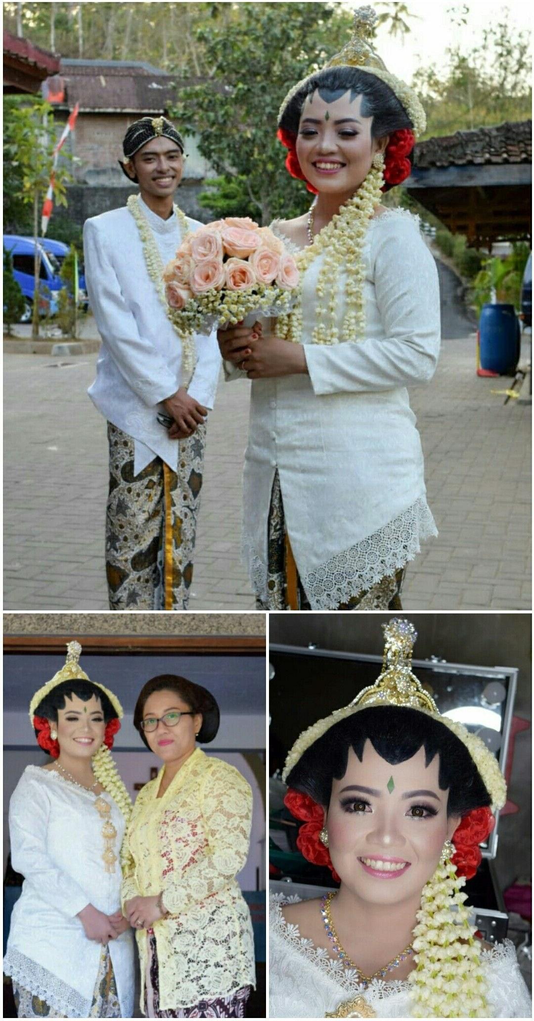 Ide Baju Pengantin Muslim Adat Jawa Qwdq Jogja Putri Wedding Makeup Muntilan Magelang