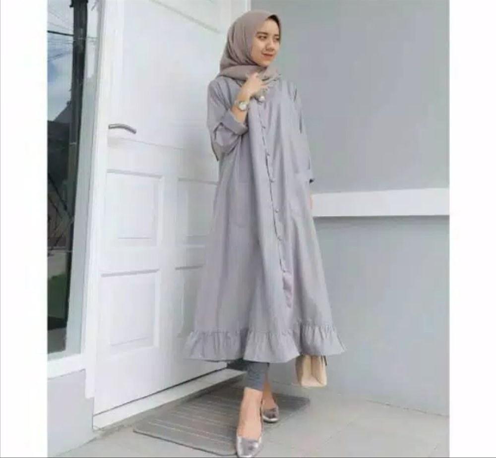 Ide Baju Pengantin Muslim Modern 2016 8ydm Basket