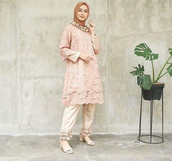 Ide Baju Pengantin Muslim Modern 2016 Qwdq Model Terkini 51 Kebaya Celana