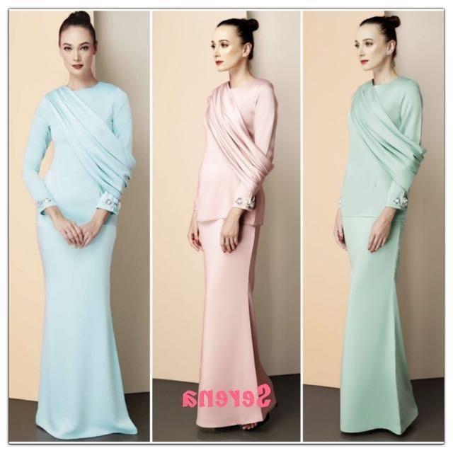 Ide Baju Pengantin Muslim Modern Ffdn Sale Modern Baju Kurung Women S Fashion Muslimah Fashion