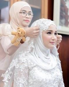 Ide Baju Pengantin Muslim Sederhana 87dx 1921 Gambar Shabby Chic theme Wedding Terbaik Di 2019