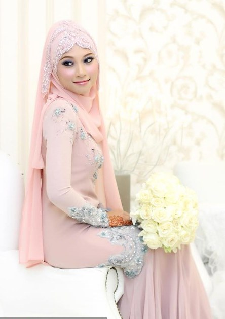 Ide Baju Pengantin Muslim Sederhana T8dj Model Kebaya Akad Nikah Hijab Model Kebaya Terbaru 2019