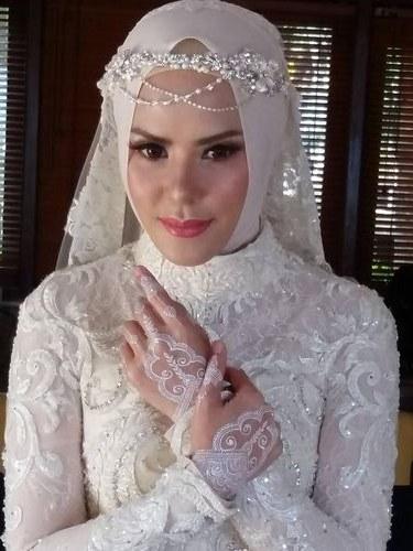Ide Baju Pengantin Muslim Sederhana X8d1 Model Kebaya Akad Nikah Hijab Model Kebaya Terbaru 2019