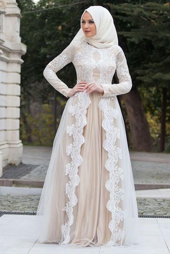 Ide Baju Pengantin Muslim Sederhana Zwd9 Jilbab Ceruti Search Results for Model Baju Pengantin