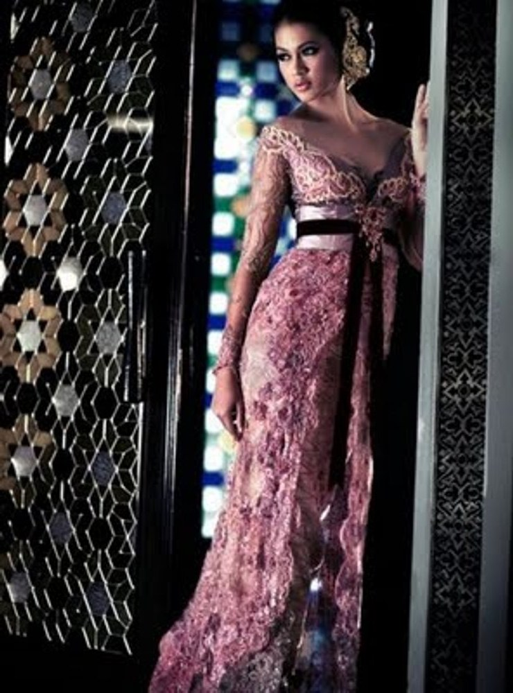 Ide Baju Pengantin Muslimah Jawa Syar'i 9ddf Baju Pengantin Jawa Modern Contoh Desain Model Kebaya
