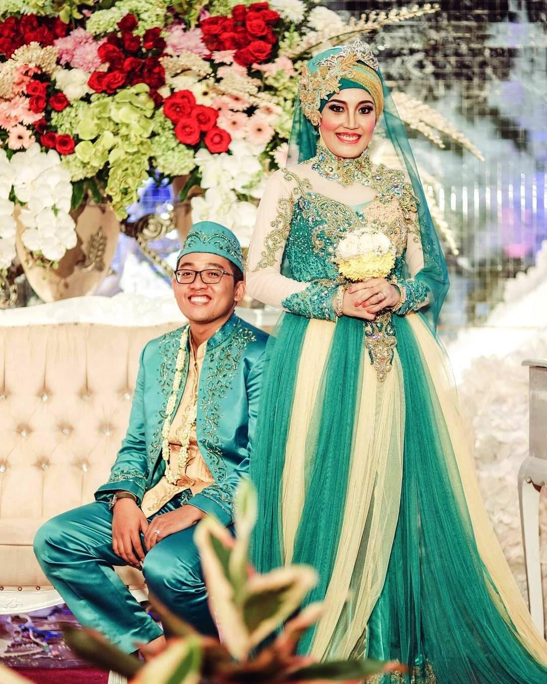 Ide Baju Pengantin Muslimah Jawa Syar'i Budm Desain Elegan Dan Cantik Trend Warna Baju Pengantin 2018