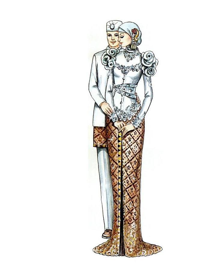 Ide Baju Pengantin Muslimah Jawa Syar'i H9d9 Contoh Foto Dan Baju Pengantin Adat Jawa Album Wedding