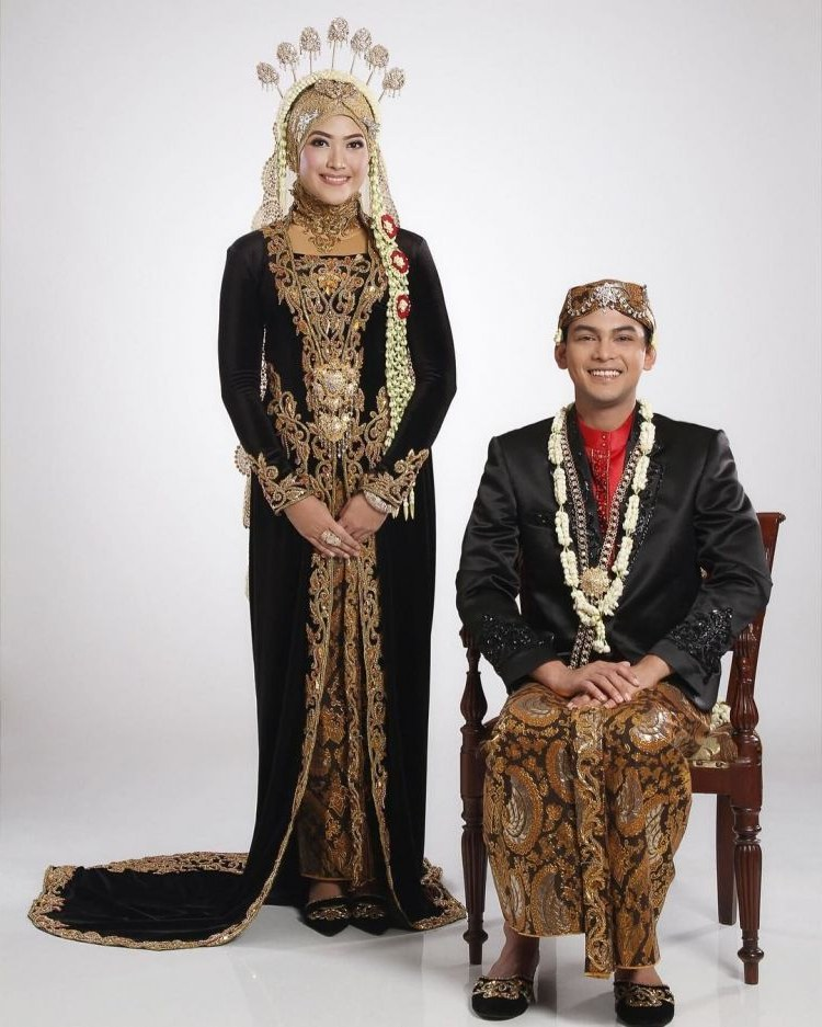 Ide Baju Pengantin Muslimah Jawa Syar'i J7do 25 Inspirasi Model Baju Pengantin Adat Jawa Terbaru