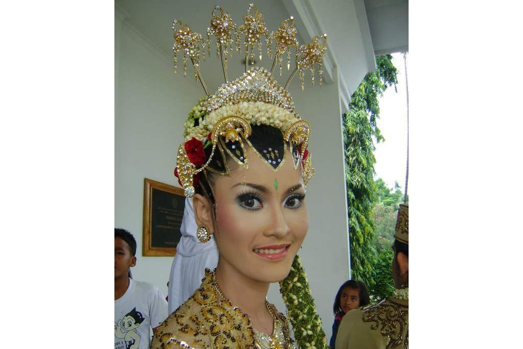 Ide Baju Pengantin Muslimah Jawa Syar'i J7do Pengantin Adat Jawa