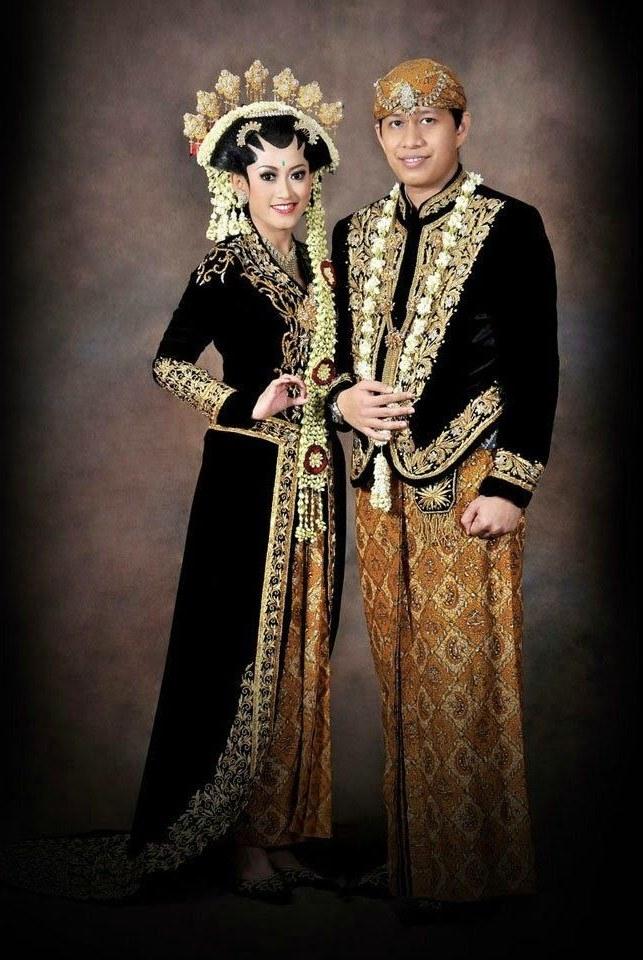 Ide Baju Pengantin Muslimah Jawa Syar'i Tqd3 Model Baju Pengantin Adat Jawa Barat