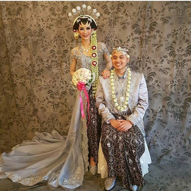 Ide Baju Pengantin Muslimah Jawa Syar'i Wddj 34 Model Kebaya Pernikahan Adat Jawa Modern Resepsi Dan