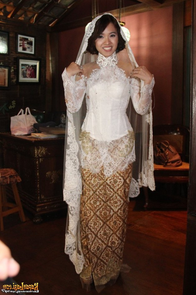 Ide Baju Pengantin Muslimah Jawa Syar'i Wddj Baju Kebaya Pengantin Bali