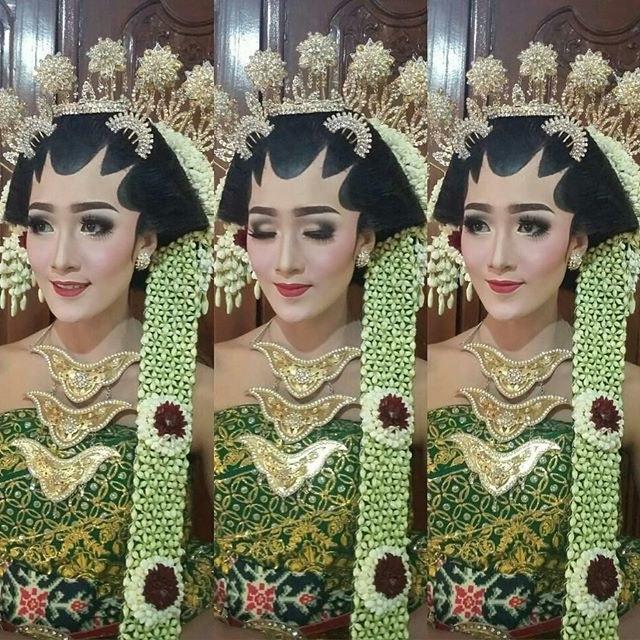 Ide Baju Pengantin Muslimah Jawa Syar'i Y7du 34 Model Kebaya Pernikahan Adat Jawa Modern Resepsi Dan
