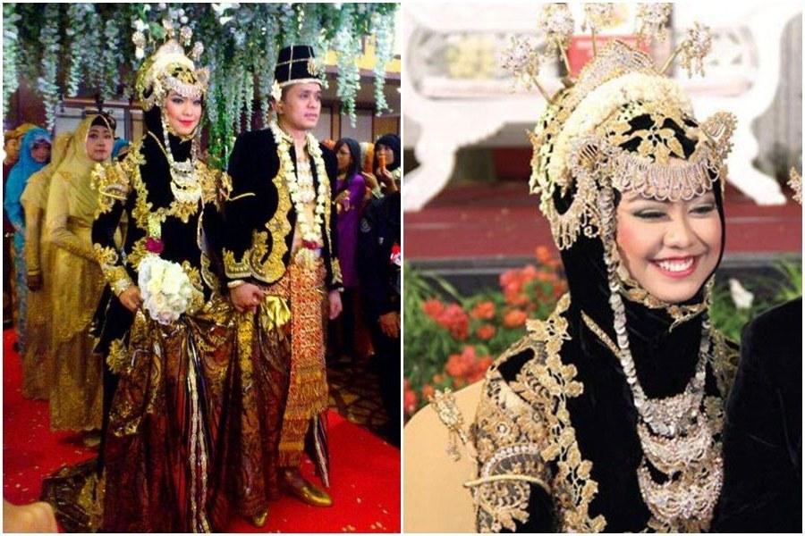 Ide Baju Pengantin Muslimah Jawa Syar'i Y7du 5 Inspirasi Baju Pengantin Muslimah Adat Jawa Syar I