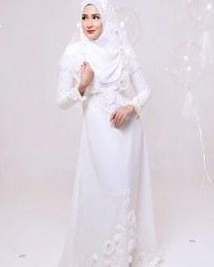 Ide Baju Pengantin Muslimah Malaysia 8ydm 145 Best Baju Nikah Putih Images In 2019